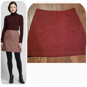 The Limited Wool Mini Skirt